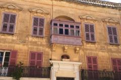 Purple windows, Mdina