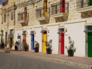 Marsaxlokk houses