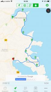 Walk 5 route