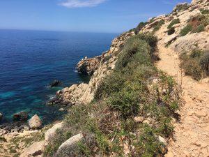 The path to Ghar Lapsi - Walk 7